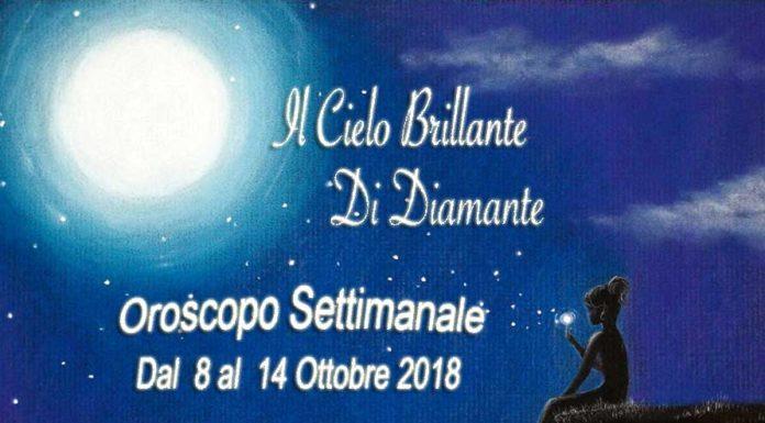 Oroscopo Settimana dal 8 al 14 Ottobre 2018