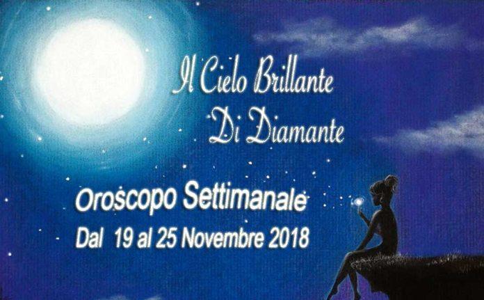 Oroscopo della prossima Settimana dal 19 al 25 Novembre
