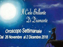Oroscopo Settimanale dal 26 novembre al 2 Dicembre