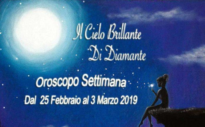Oroscopo settimana dal 24 febbraio 2019
