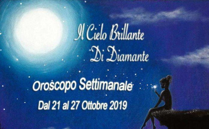 oroscopo dal 21 al 27 ottobre 2019