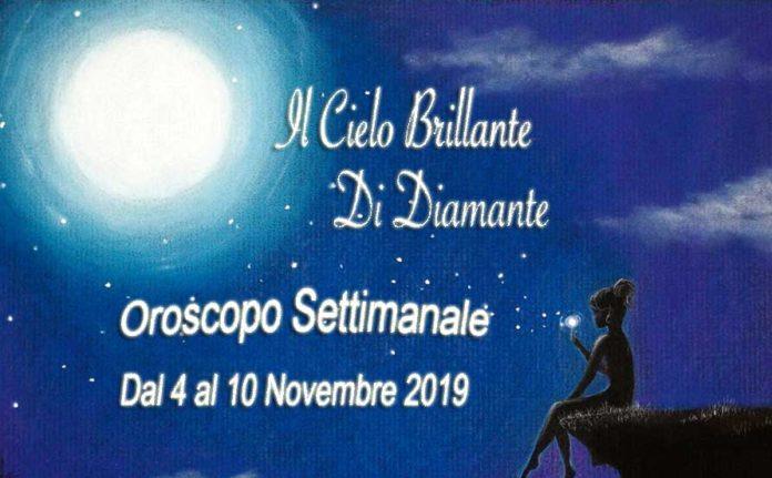 Oroscopo dal 4 al 10 Novembre 2019