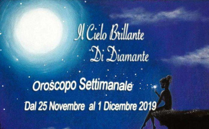 Oroscopo dal 25 Novembre al 1 Dicembre 2019