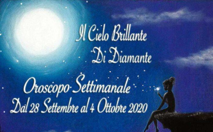 Oroscopo della Settimana dal 28 Settembre al 4 Ottobre 2020