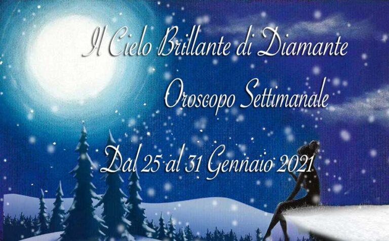 Oroscopo di Diamante dal 25 al 31 gennaio 2021