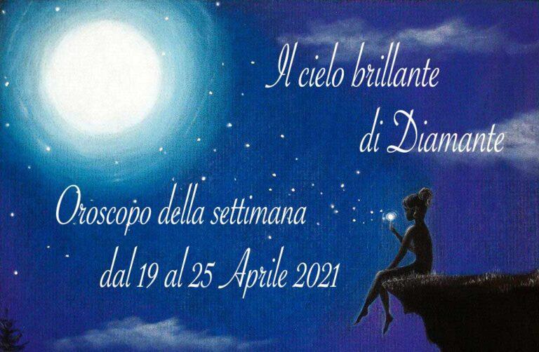 Oroscopo di Diamante dal 19 al 25 aprile 2021