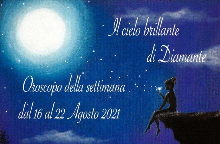 Oroscopo di Diamante dal 16 al 22 agosto 2021